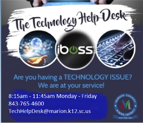 Technology Help Desk - Here for You!
