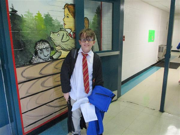 Book Character / Dress for Success Day