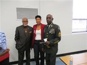 Mrs. Hughes and Veterans