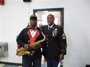 Sax and Veterans