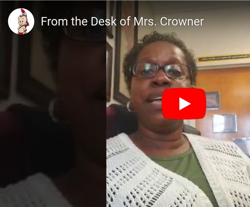 From the Desk of Mrs. Crowner