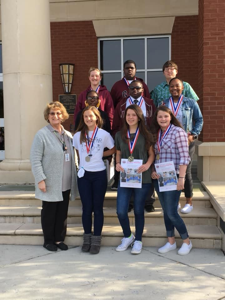 JMS STUDENTS AWARDED AT SAND HILLS REGION IV SCIENCE FAIR